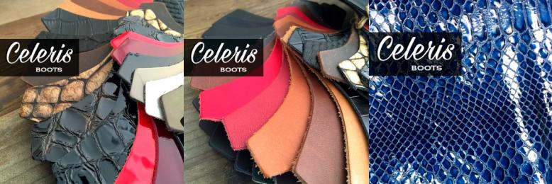 Kleurenpalet Celeris Rijlaarzen